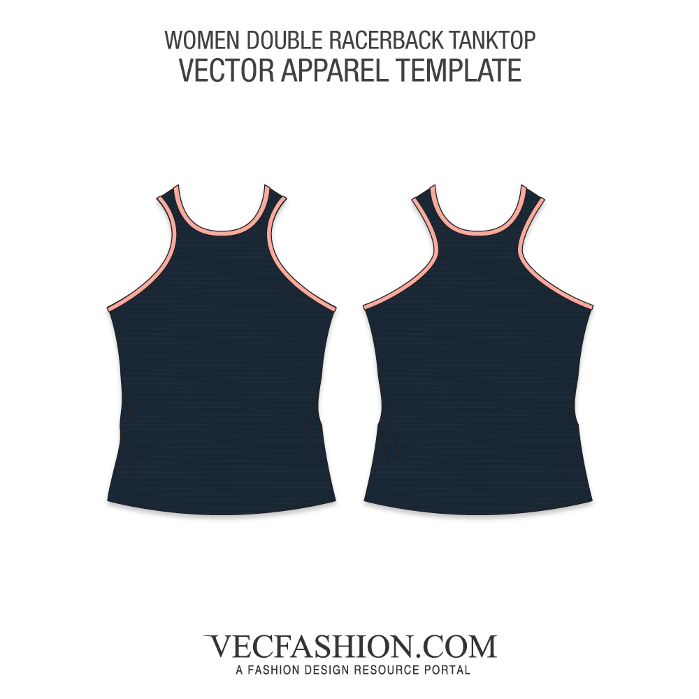 Vector tank template woman. Products tagged training vecfashion