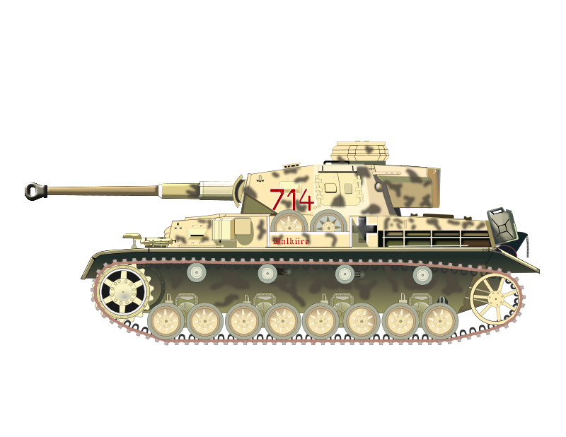 Vector tanks tiger tank. Panzer by charner from