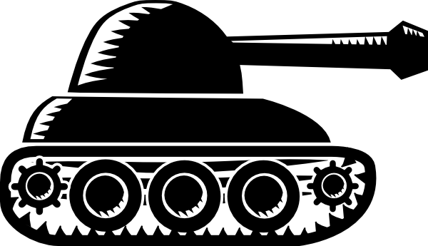 Vector tanks. Black tank clip art