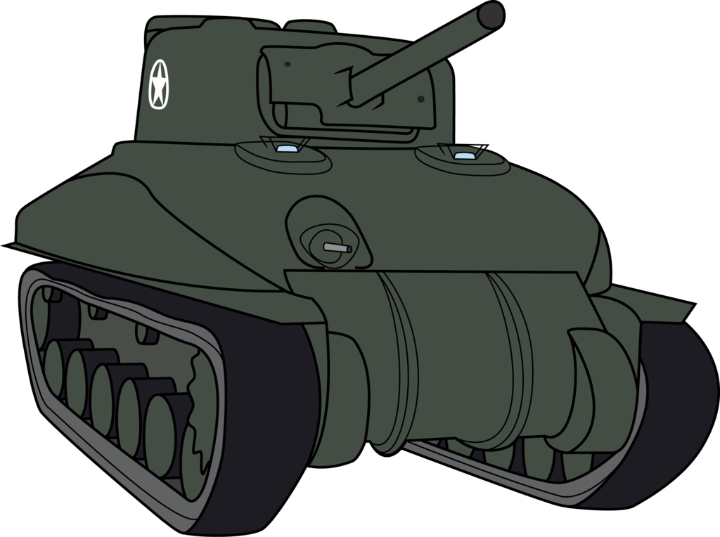 Vector tanks. M a sherman by
