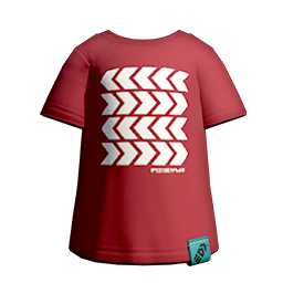 Vector tee file. S gear clothing red