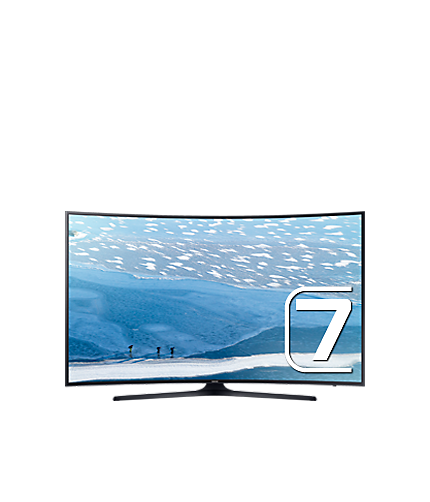 Vector television curved tv