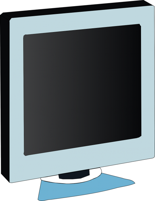 Vector television lcd. Screen monitor book free