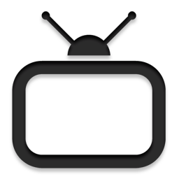 Vector television. Free icons and png