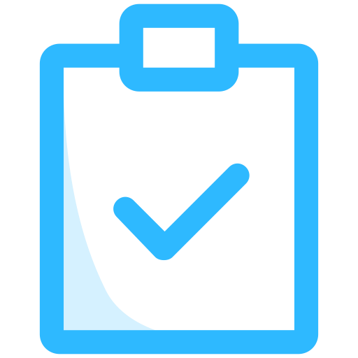 Vector test png. Vocabulary icon testing and