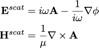 Vector theory formula equation. Integral the classical formulation