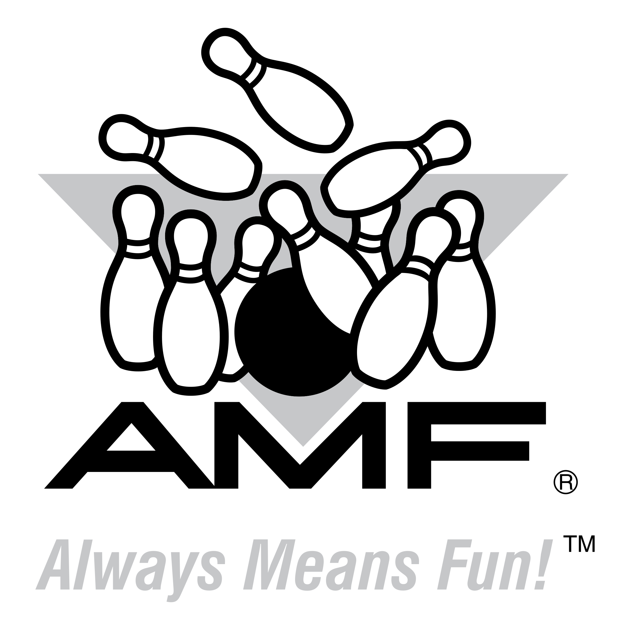 Vector tickets bowling. Amf logo png transparent