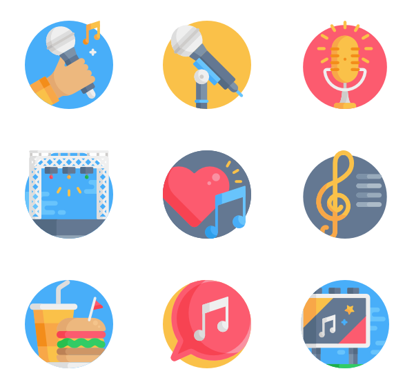 Vector tickets symbol. Ticket icons free music