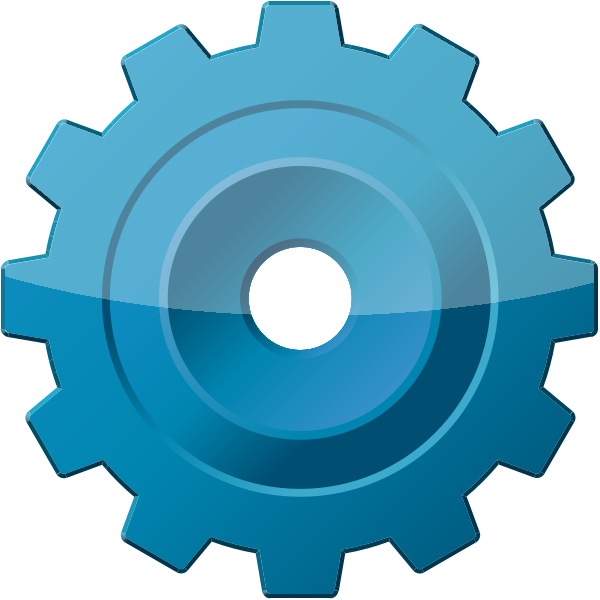 Vector tool. Blue config or data