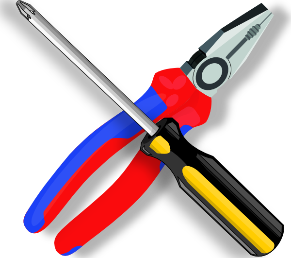 Vector tool electrical. Screwdriver banner free