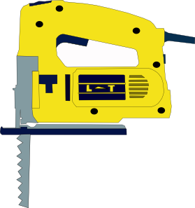 Vector tool electrical. Electric saw clip art