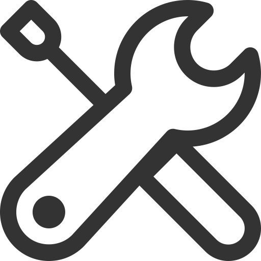 Vector tool maintenance. Service pliers icon with