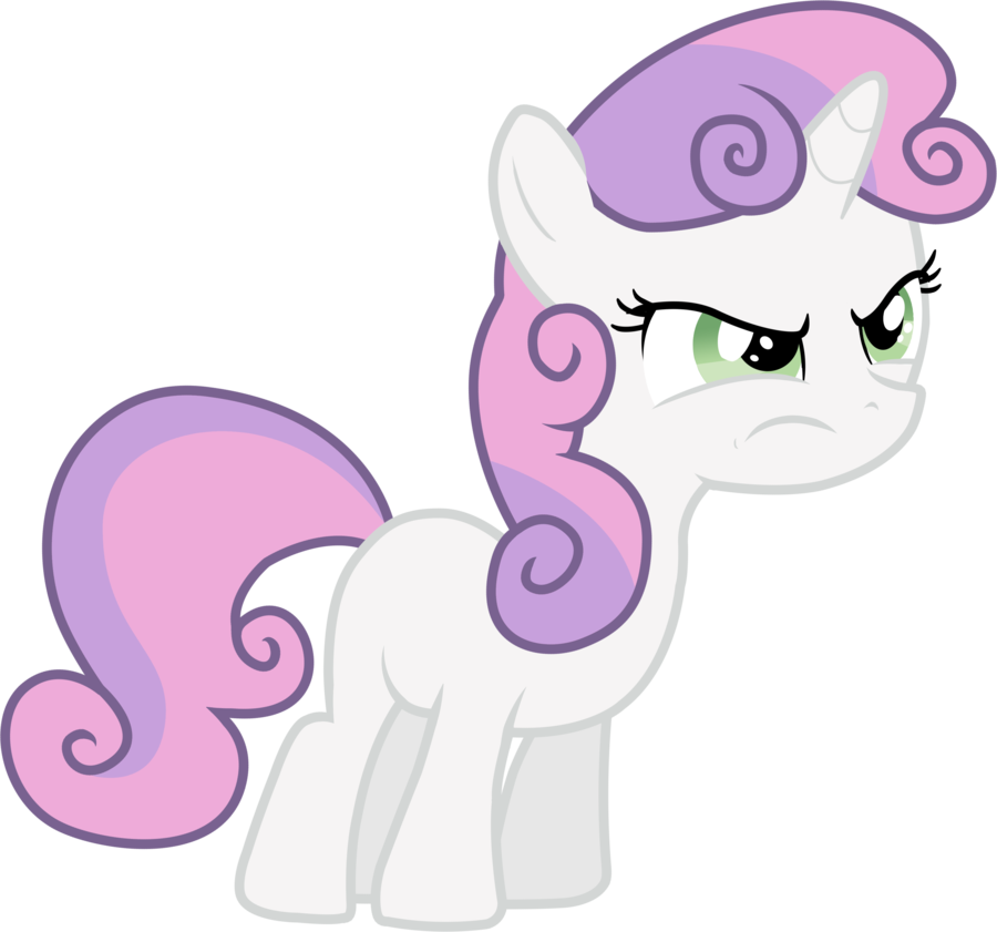 Vector tornado angry. Sweetie belle by thardusi