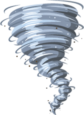 Vector tornado transparent background. Collection of free download