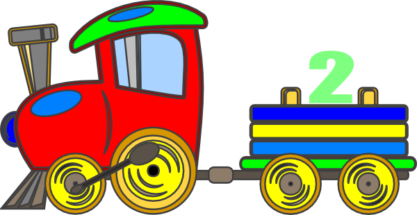 Vector trains birthday. Toy train clip art