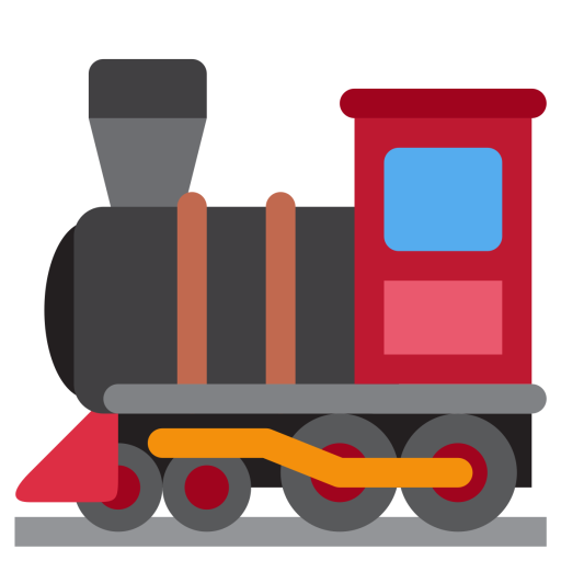 Vector trains old red. Free train icon download