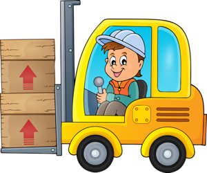 Vector transportation cartoon. Coloring books for kids