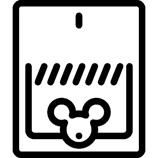 Vector trap mouse. Household icon ios iconset
