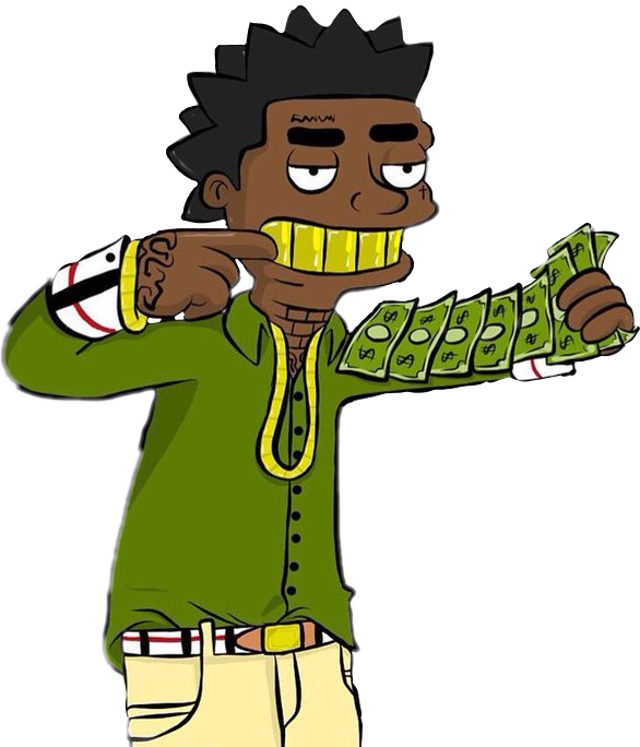 Vector trap rap. Cash kodak kodakblack trapmusic