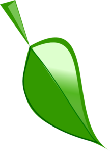 Vector triangles leaf. Clip art at clker