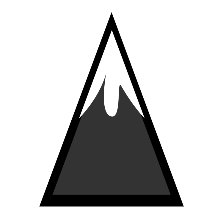 Vector triangles mountains. Tag mountain computer icons