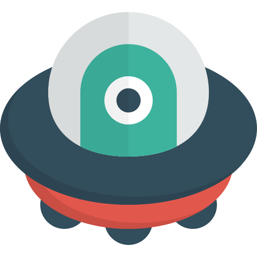 Fill icon with png. Vector ufo flat design picture freeuse download
