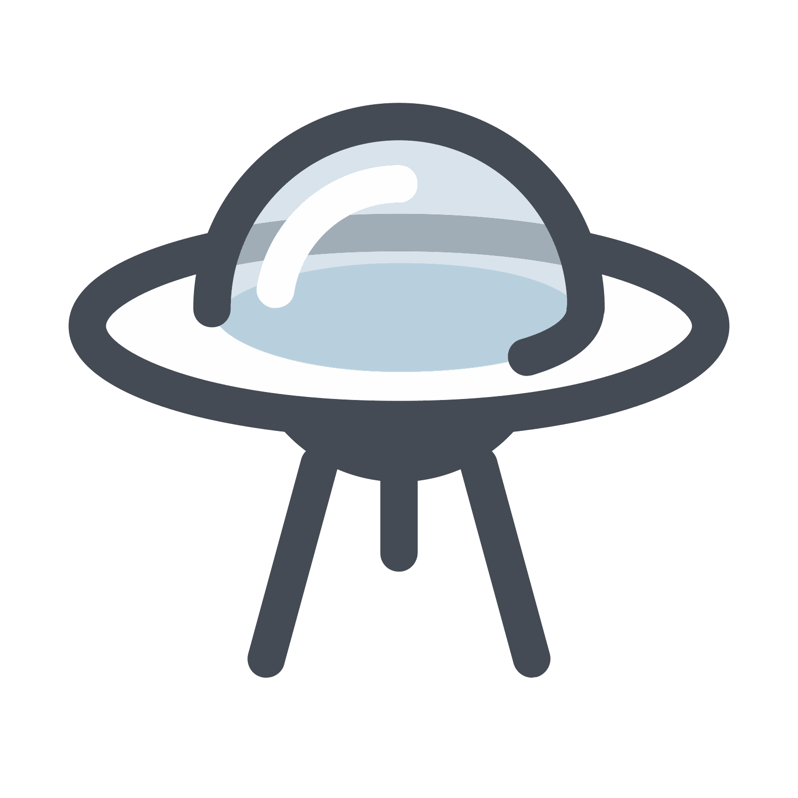 Vector ufo. Icon free download png