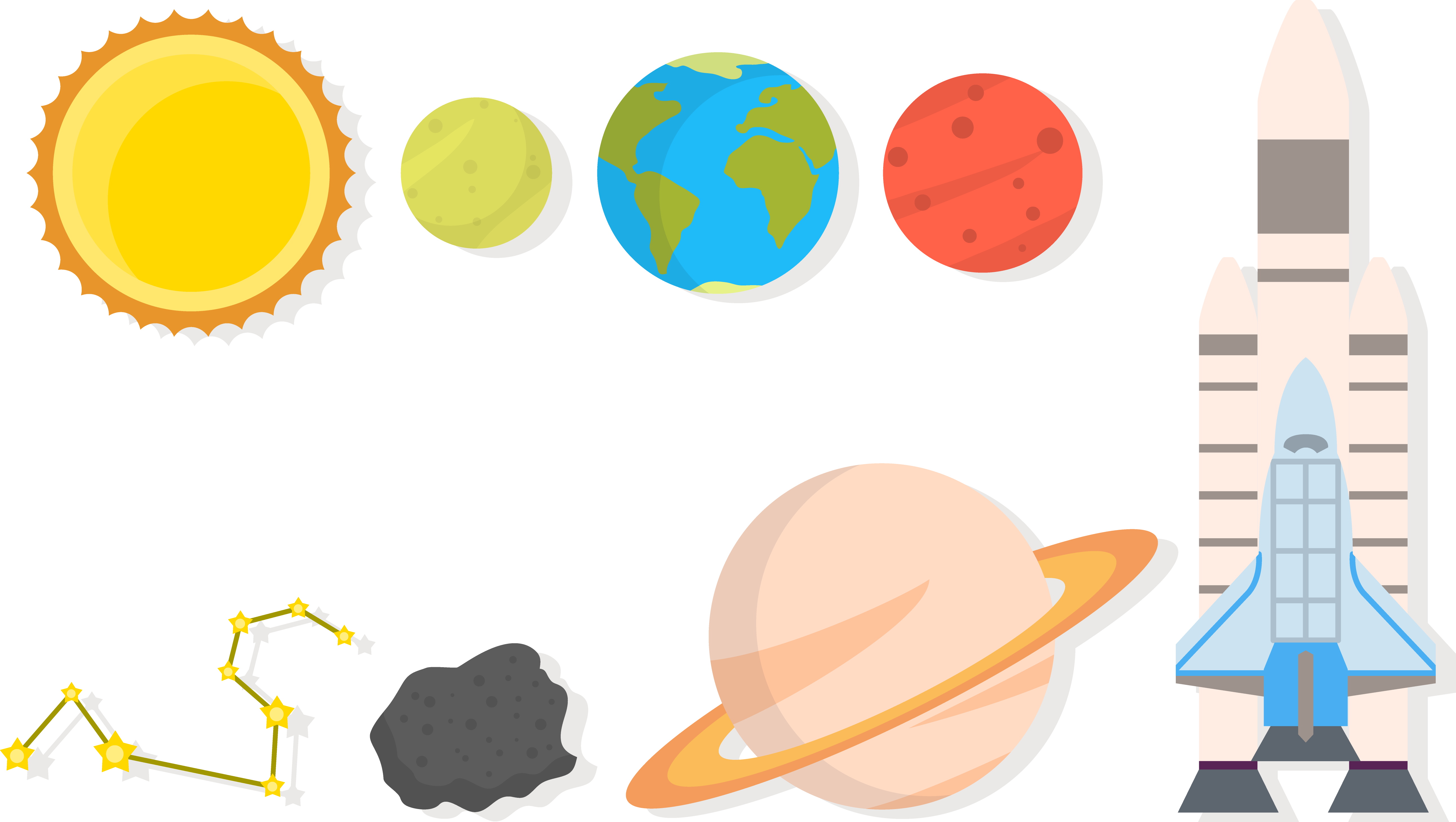 Vector ufo graphic. Universe drawing planet technical
