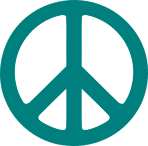 Vector unity peace. Sign clip art at