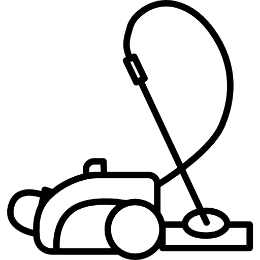 Vector vacuum draw. Cleaner free icons icon