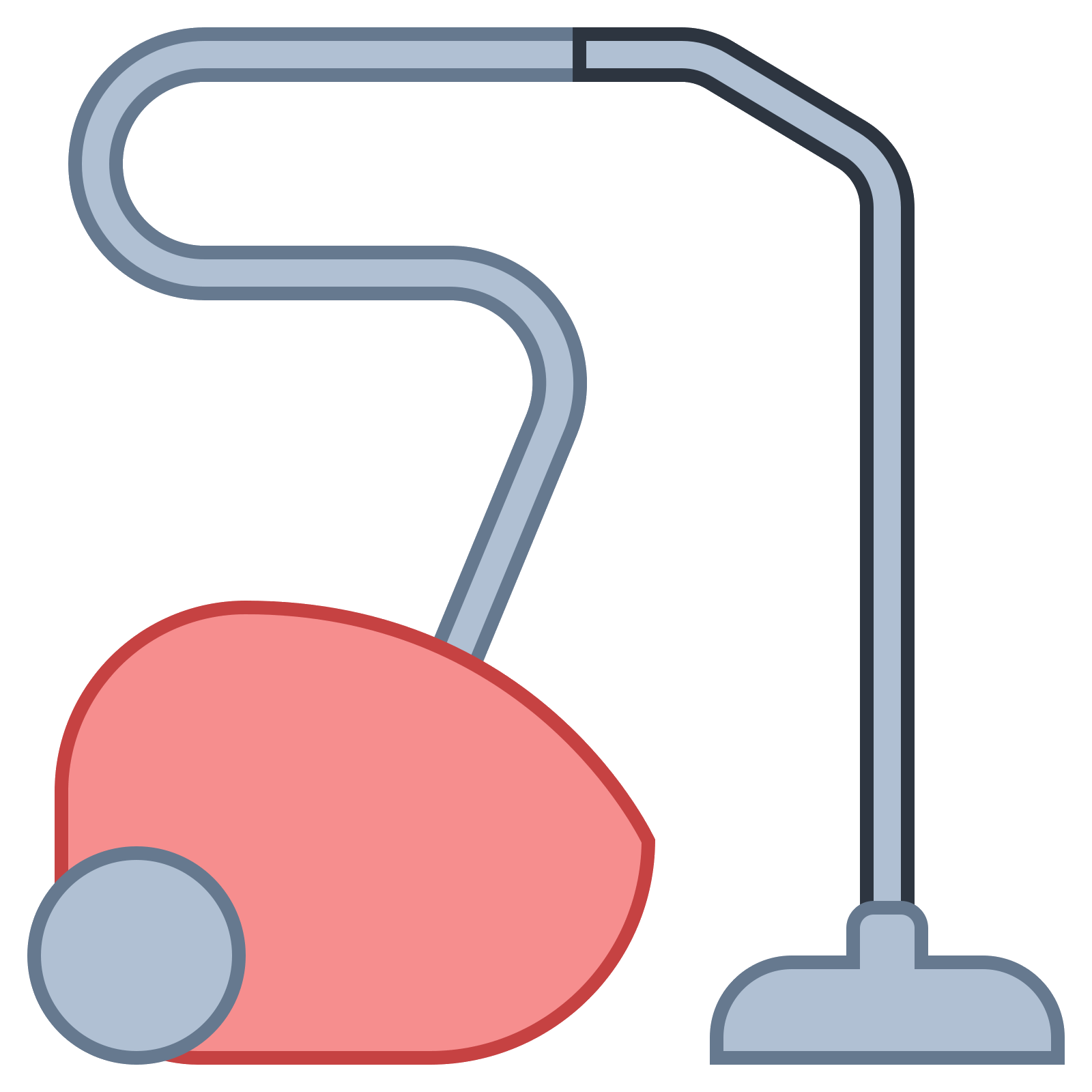 Vector vacuums hose. Odkurzacz icon free download