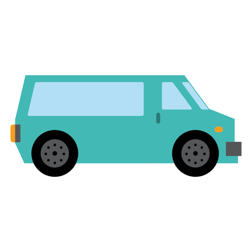 Vector van. Travel transparent png svg