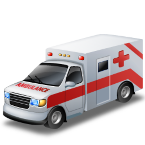 Vector van background. Ambulance icons png free