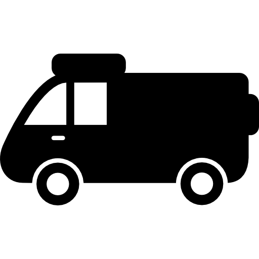 Vector van side. Icon page png svg