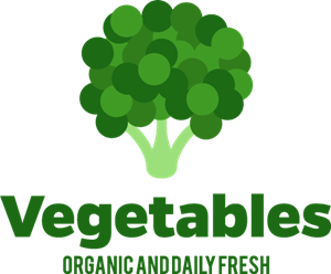 Vector vegetables fresh vegetable. Logo eps free download