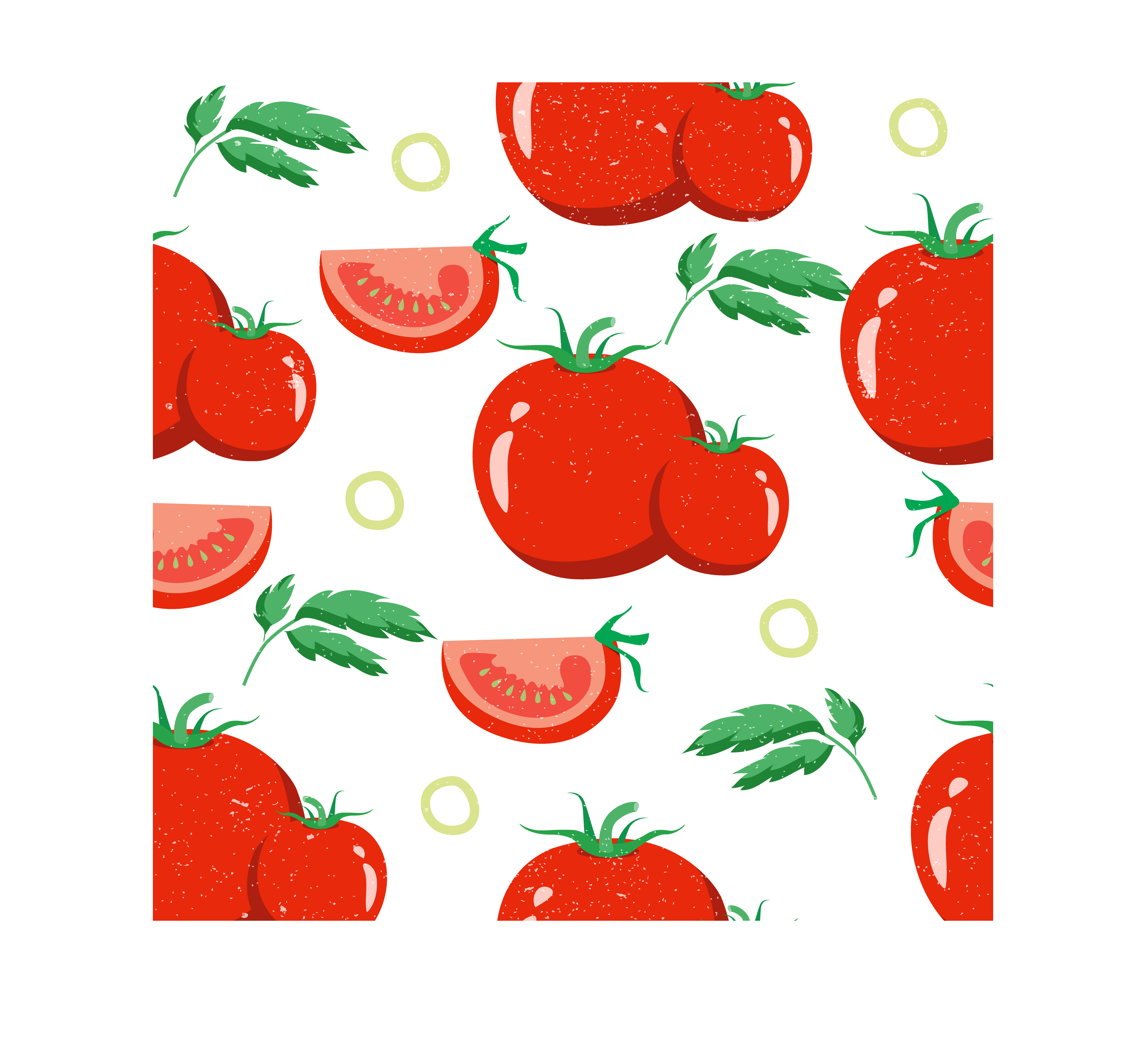 Vector vegetables background. Tomato vegetable rouge tomate