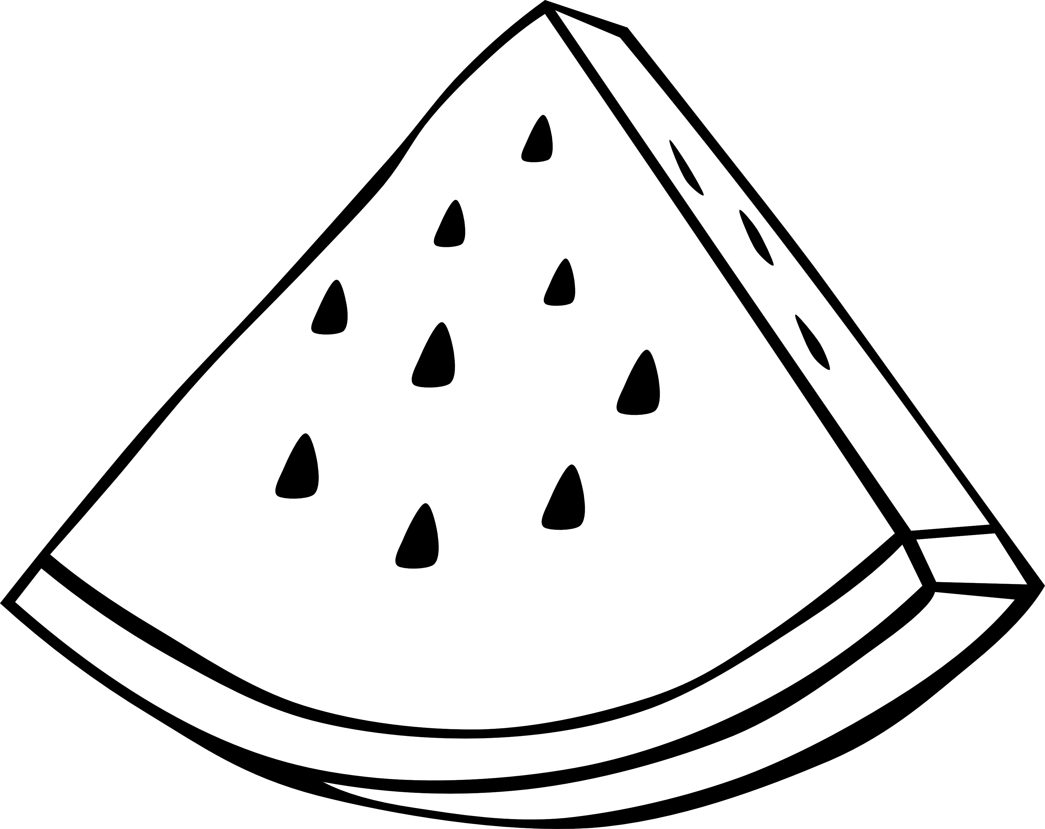 Vector vegetables simple. Black and white