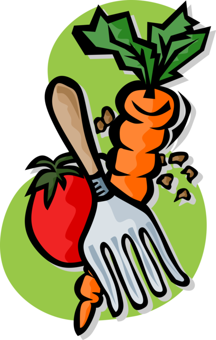 Vector vegetables tomato. Carrot and image illustration