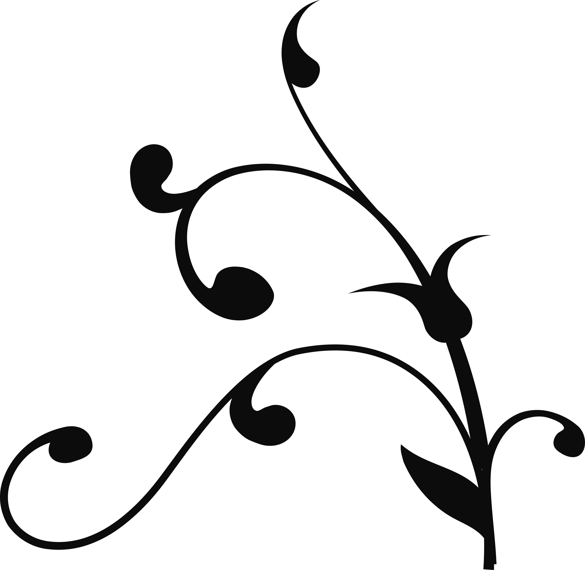 Vector vines png. Clipart twisted branch big