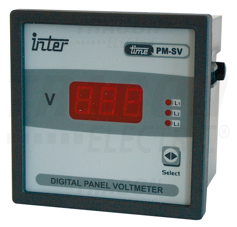 Vector voltmeter 8405a. Digital ac phase panel