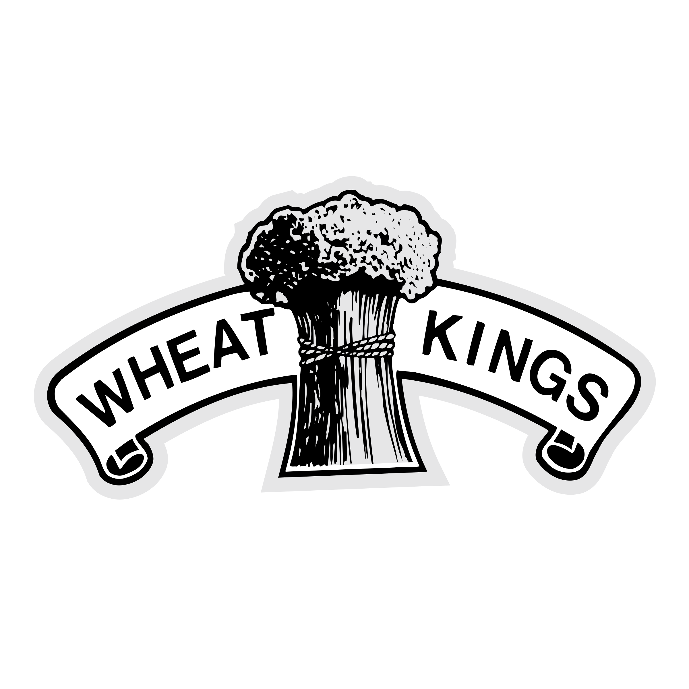 Vector wheat logo. Kings png transparent svg