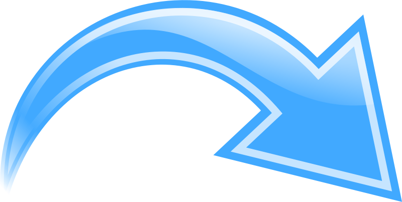 Vector wind wavy arrow. Collection of free embellishing