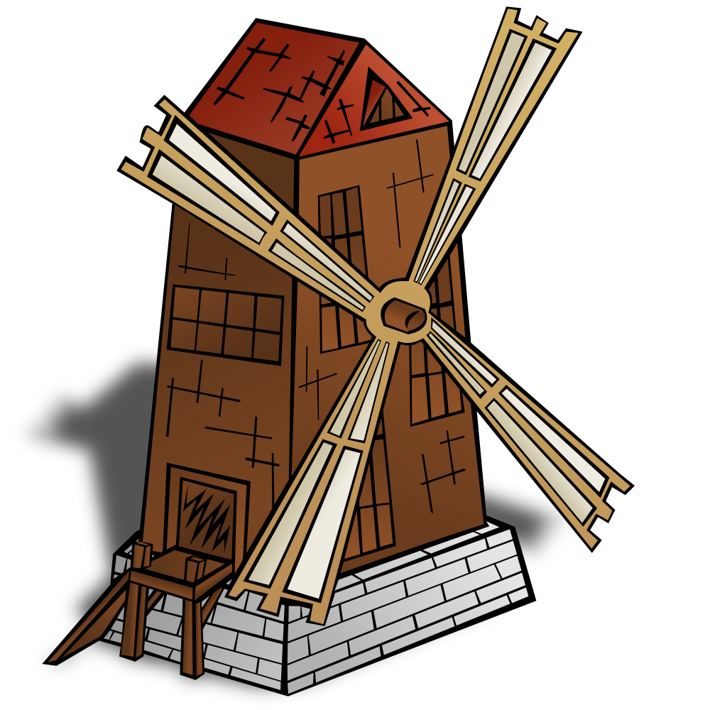 Vector windmill printable. Clipart at getdrawings com