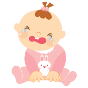 Baby girl free images. Crying clipart royalty free download