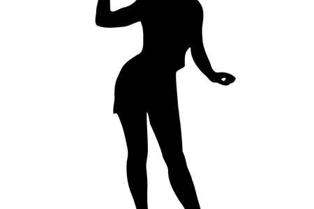 Vector women full body. Woman silhouette k pictures