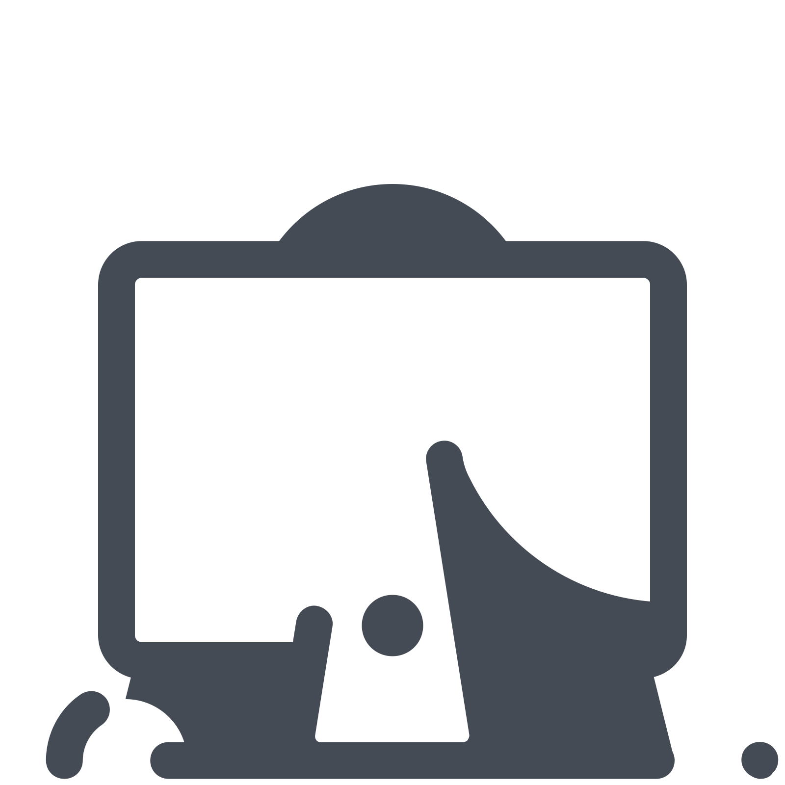 Vector working. At the imac icon