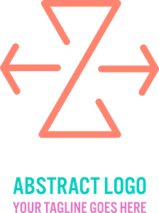 Letters vector abstract. The letter z logo