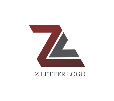 Letter logo psd design. Vector z png black and white library