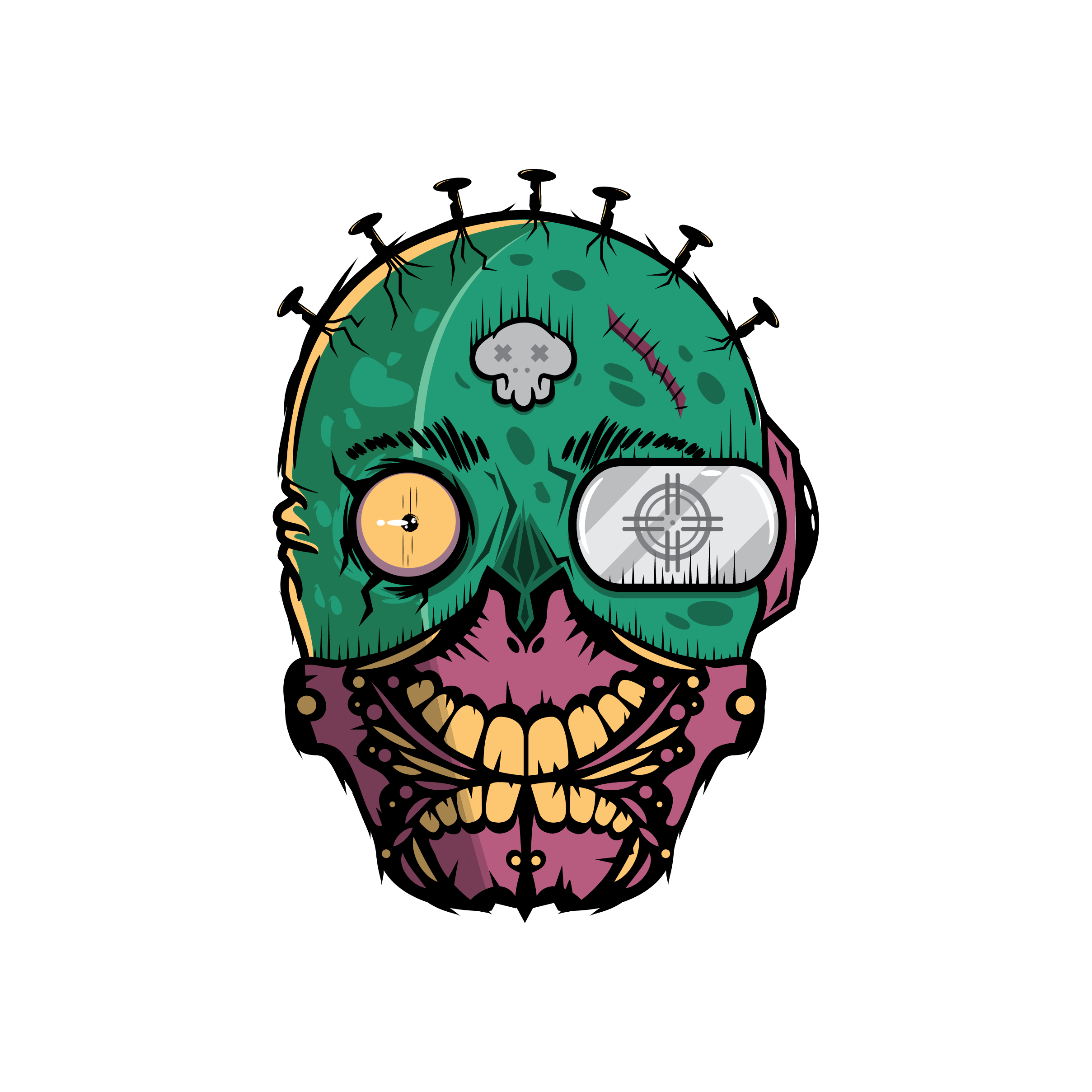 Zombiefy on behance . Vector style graffiti jpg black and white library