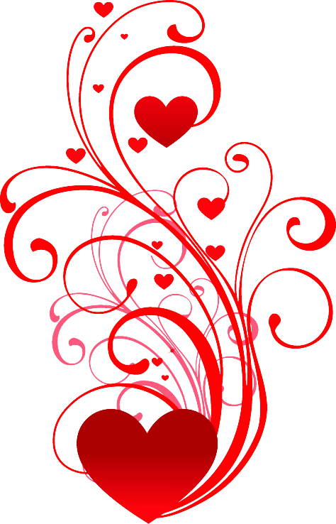 Vectorial drawing heart. Love this hearts pinterest